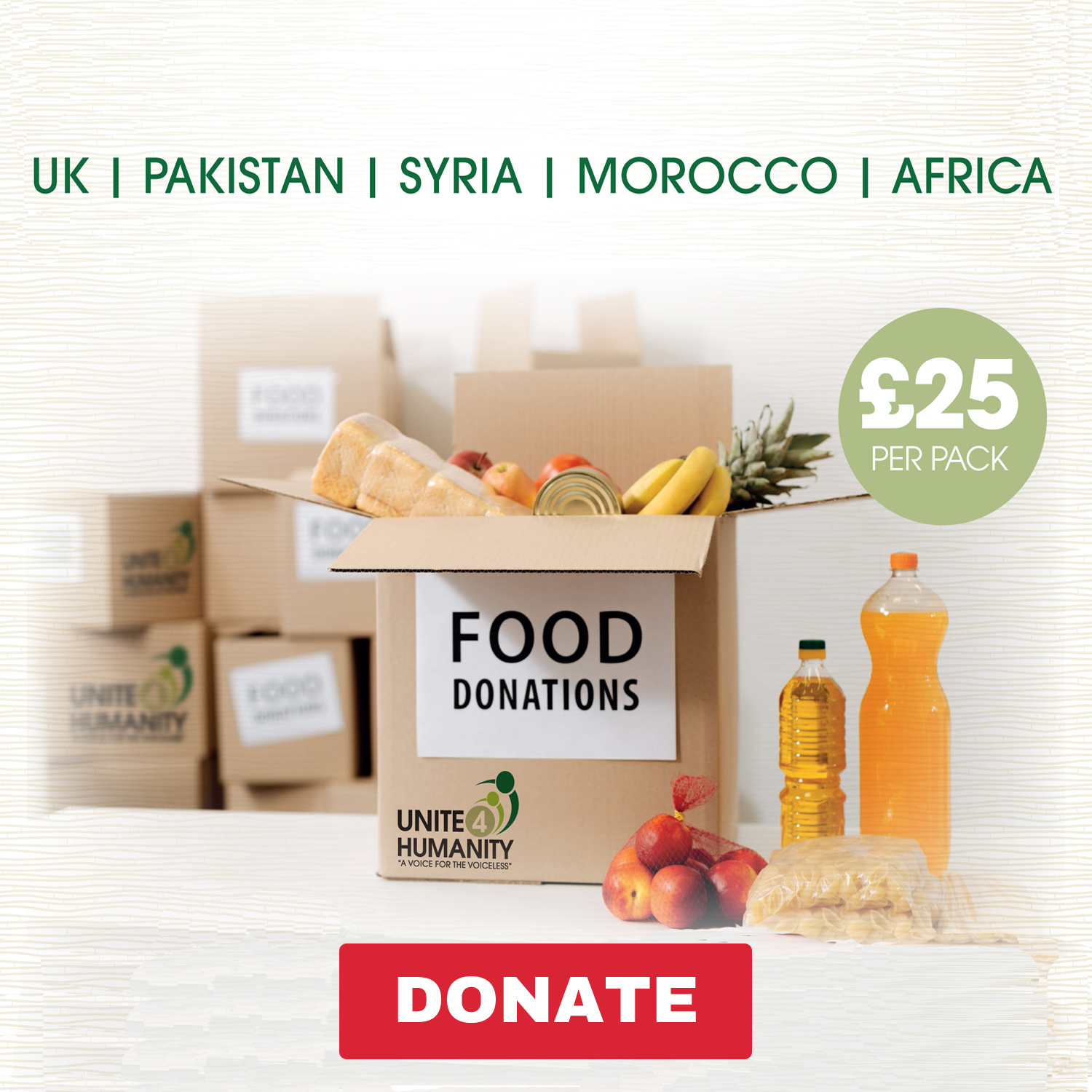 Ramadan Food Packs Distribution Appeal