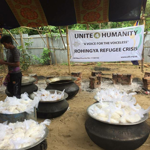 Rohingya Emergency Appeal Cooked Food