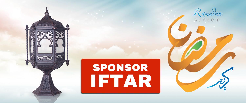 Sponsor An Iftar Header