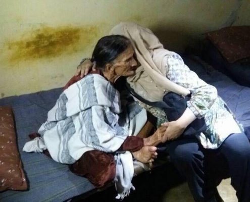 Charity Work in Ramadan Help the Ill and Elderly