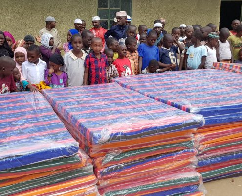 Charity Work in Ramadan - Mattresses for Orphanage
