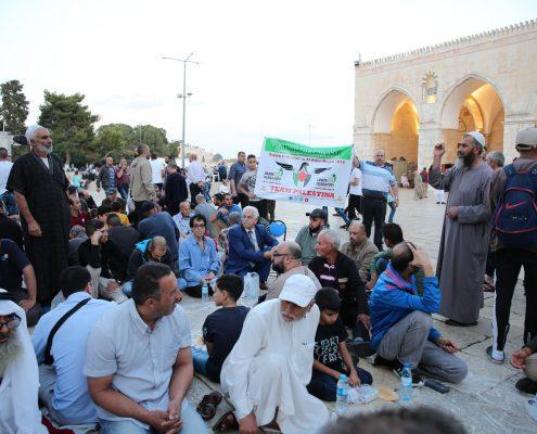 Charity Work in Ramadan - Iftar In Masjid Al Aqsa