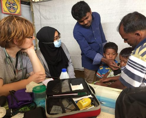 Charity Work in Ramadan - Medical Support In Rohingya Camps
