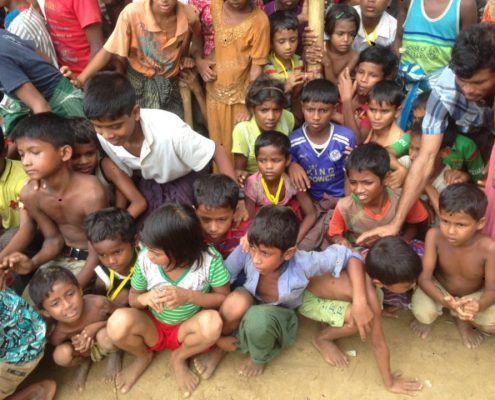 Charity Work in Ramadan - Rohingya Orphans