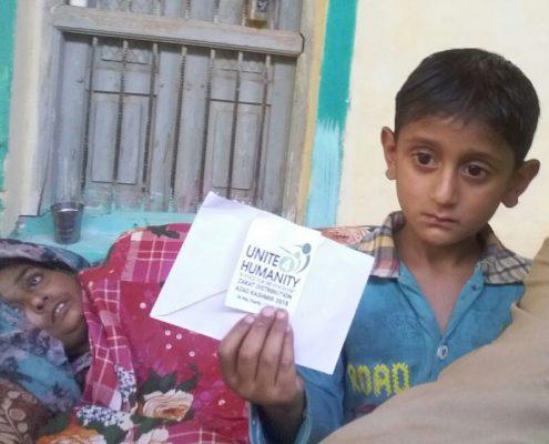 Charity Work in Ramadan - Zakat Distribution