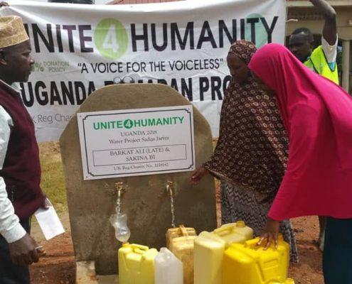 Charity Work in Ramadan - Water for Africa