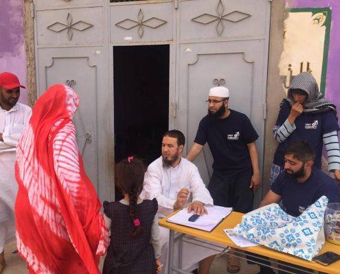 Charity Work in Ramadan Zakat Distribution