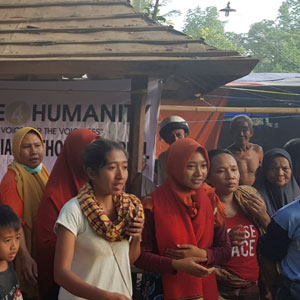 Indonesia Earthquake Aid Distribution