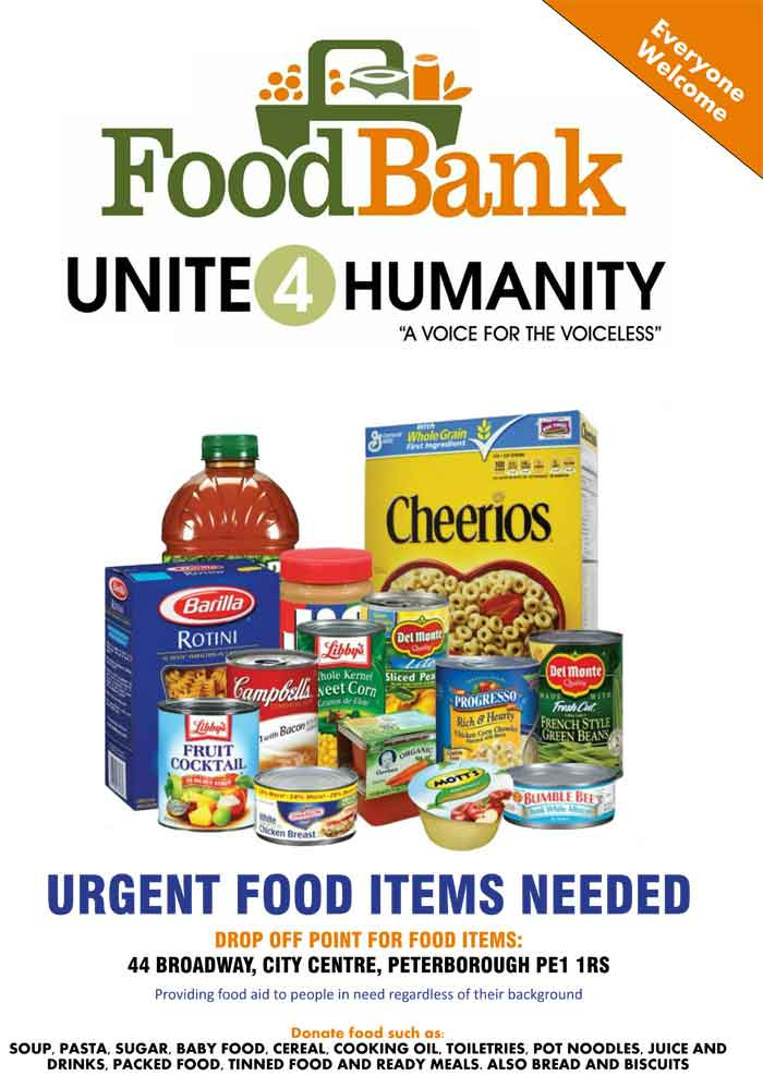 Donate Food to Foodbank