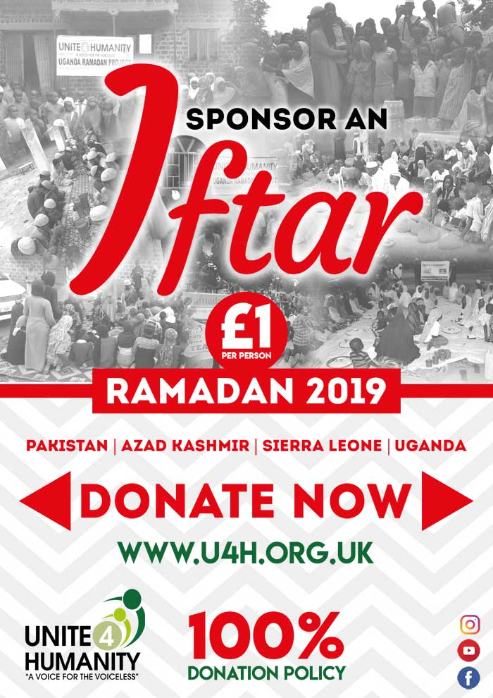 Sponsor Iftar Dinners in Mosques