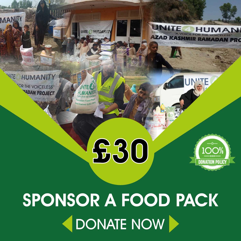 Sponsor a Food Pack