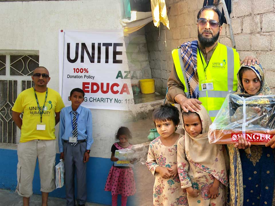 Unite 4 Humanity 100% Donation Policy UK Muslim Charity