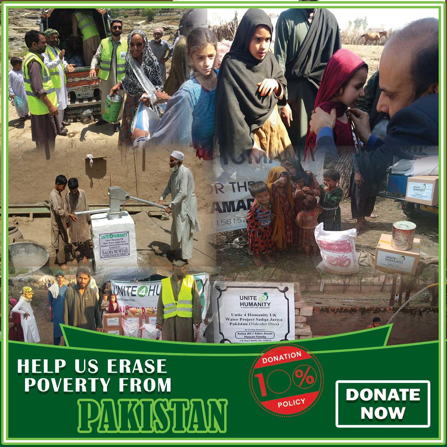 Donate For The Poor & Needy In Pakistan