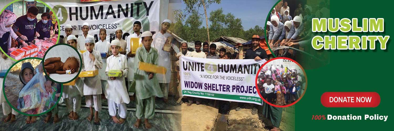 Unite 4 Humanity is a UK Muslim Charity