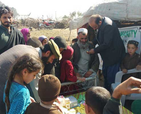 Provide Medication for Poor Muslims in Pakistan