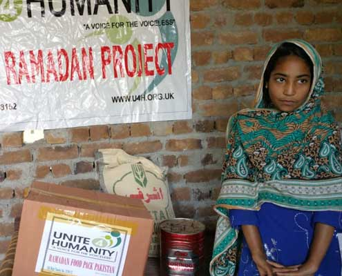 Sponsor a Food Pack for Poor & Needy Families in Pakistan